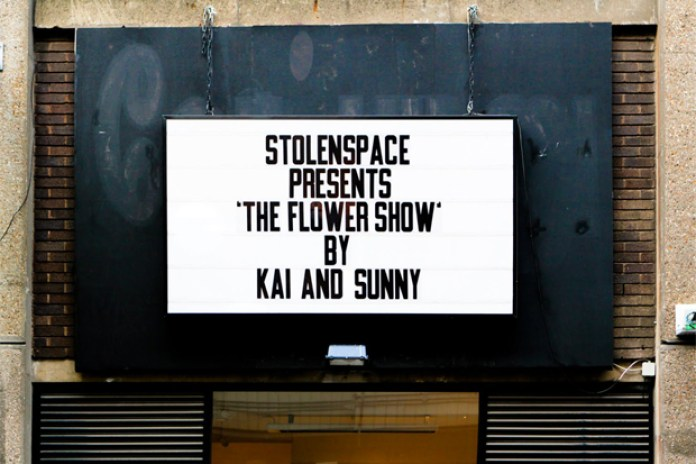 "Kai and Sunny ""The Flower Show"" @ StolenSpace Gallery"