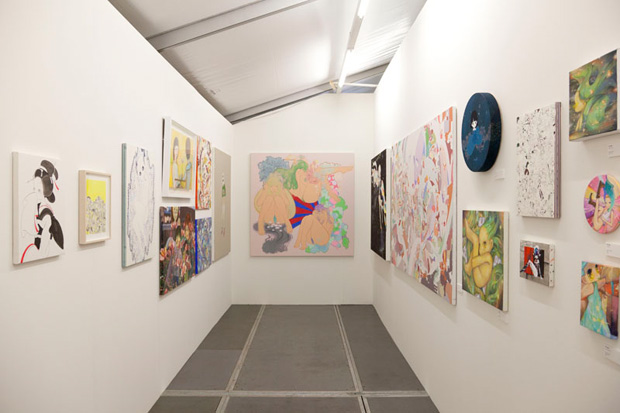kaikai kiki gallery at art basel