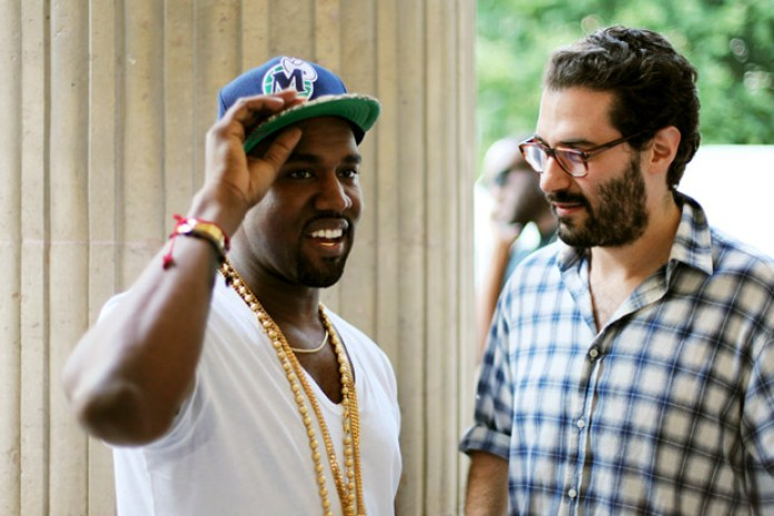 Streetsnaps: Kanye West @ Adam Kimmel 2012 Spring/Summer Collection Presentation