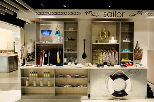 "Kapok ""sailor"" Concept Store Opening @ K-11"