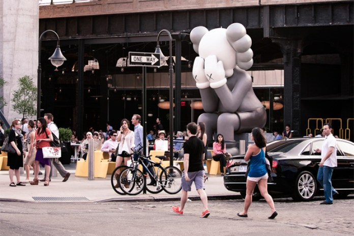 KAWS Companion (Passing Through) @ The Standard New York