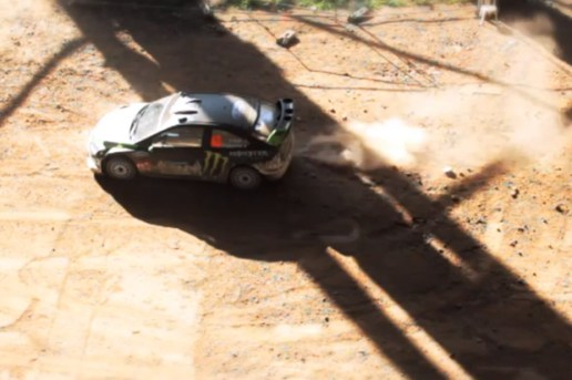 Ken Block DiRT 3 Gymkhana: Tilt Shift Edition