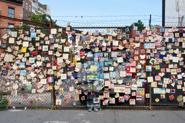 Liu Bolin: Hiding in New York