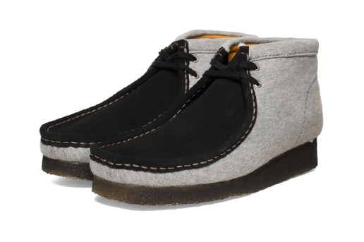 Loopwheeler x Clarks Originals Wallabee