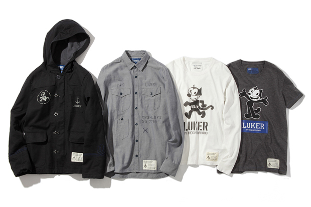 luker by neighborhood x felix the cat capsule collection preview