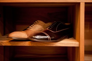 Maison Martin Margiela 2011 Pre-Fall Patent Shaded Lace-Up Shoe