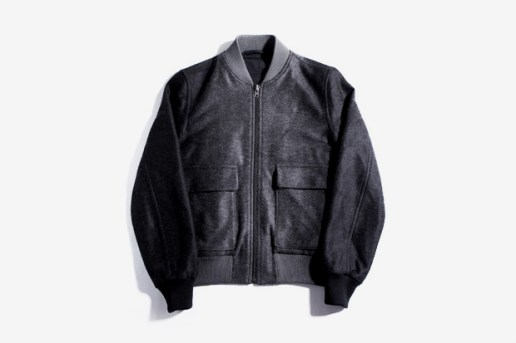 "Maison Martin Margiela 2011 Pre-Fall ""Shadow"" Varsity Jacket"