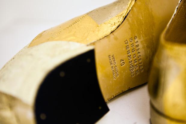 maison martin margiela laceless leather loafer
