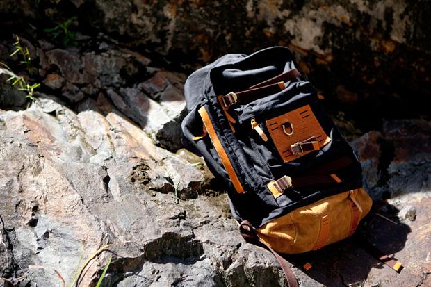 master piece x konbu trump backpack