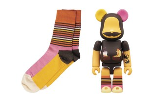 Medicom Toy x Happy Socks Bearbrick Collaboration