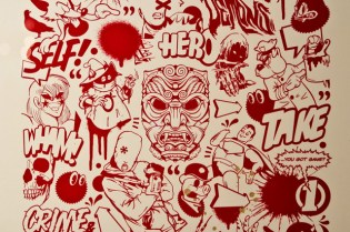 """MEGGS """"Inner Demons"""" Exhibition @ Red Bull Studios Recap"""