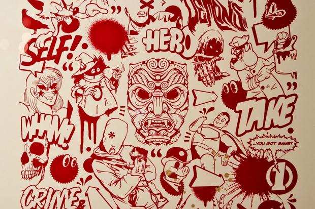 "MEGGS ""Inner Demons"" Exhibition @ Red Bull Studios Recap"