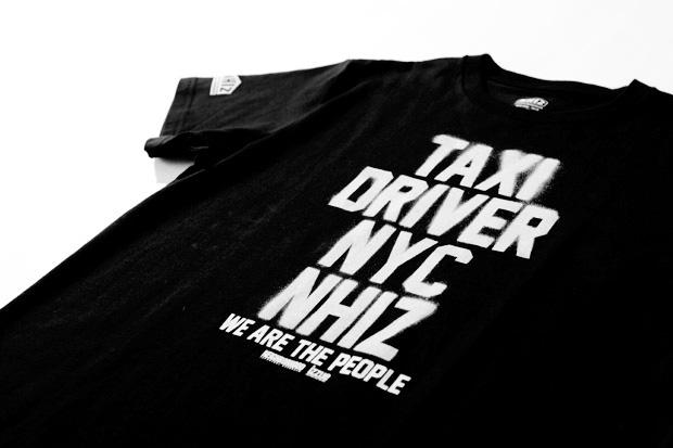 neighborhood x izzue nhiz taxi driver t shirt