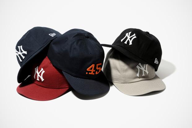 new era 8 panel baseball cap