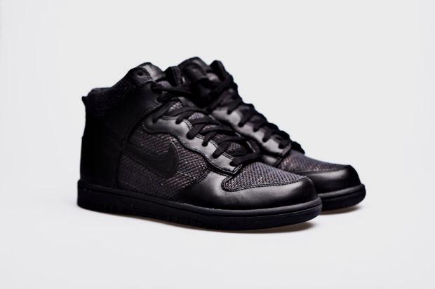 nike sportswear dunk high premium maharam black