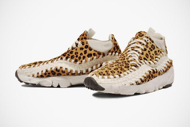 nike sportswear footscape woven leopard