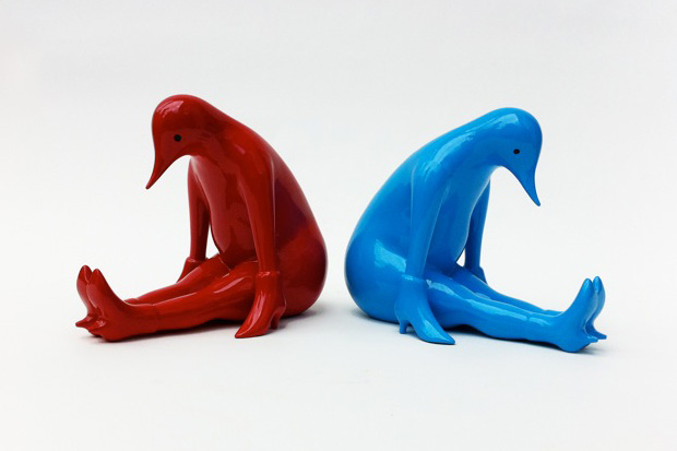 parra x toykyo take a rest sculpture