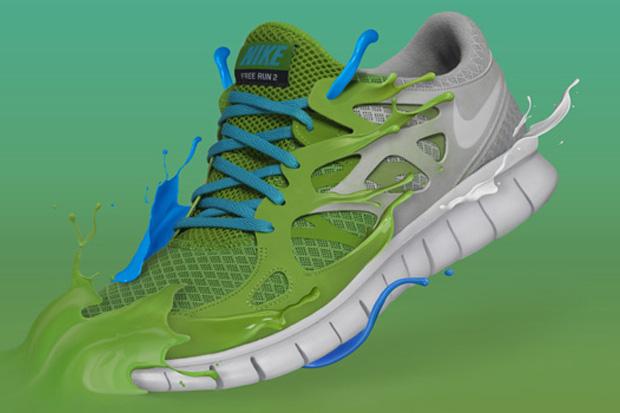 Pixel Deep: Nike Free Run+ 2 Campaign