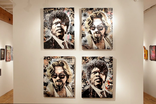 Quentin VS Coen - A Tribute to Tarantino & the Brothers Exhibition Recap Video