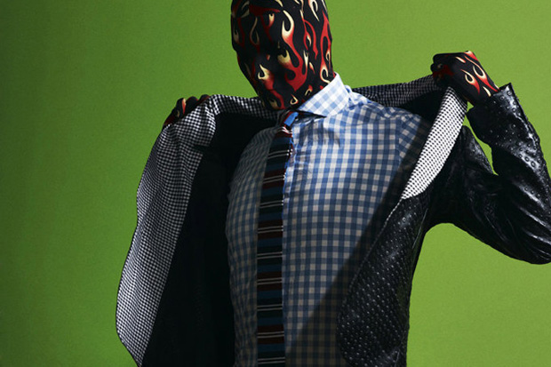 """QVEST Magazine """"Man Behind the Mask"""" Editorial"""