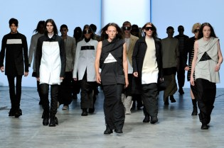 Rick Owens 2012 Spring/Summer Collection