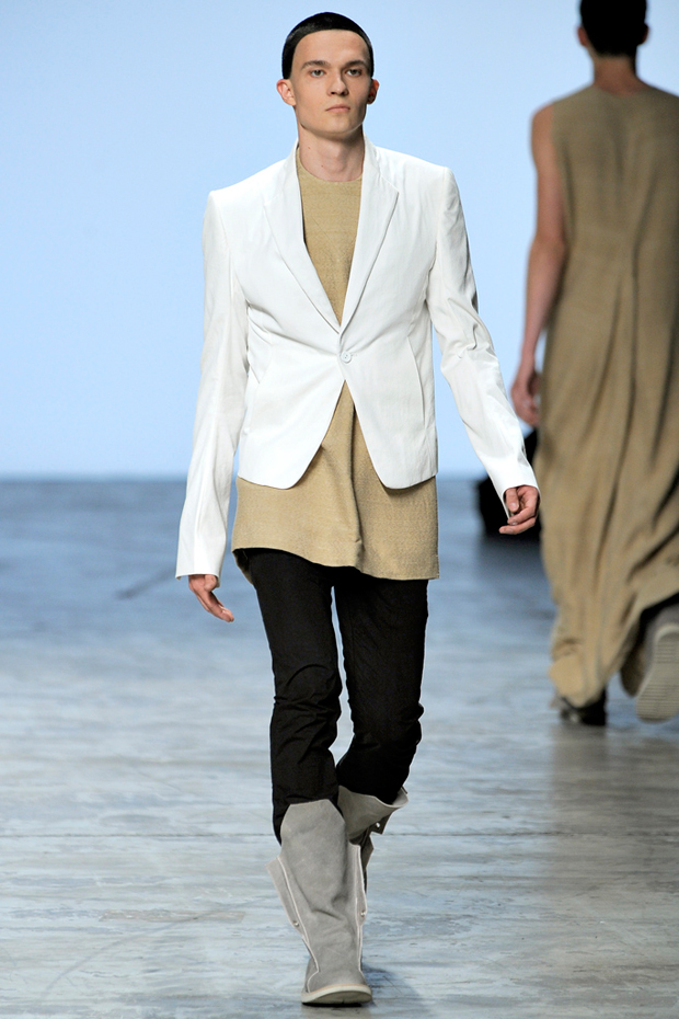 rick owens 2012 springsummer collection