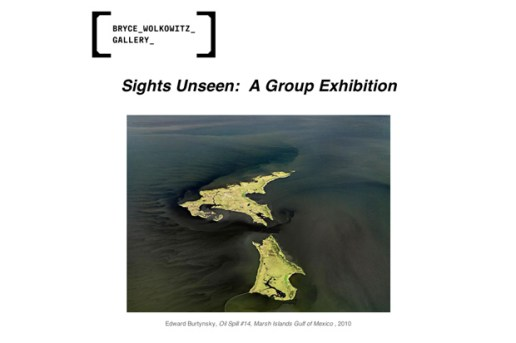 Sights Unseen: A Group Exhibition @ Bryce Wolkowitz Gallery