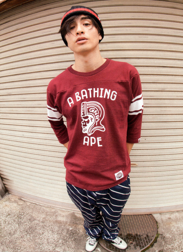 smart magazine a bathing ape 2011 summer lookbook