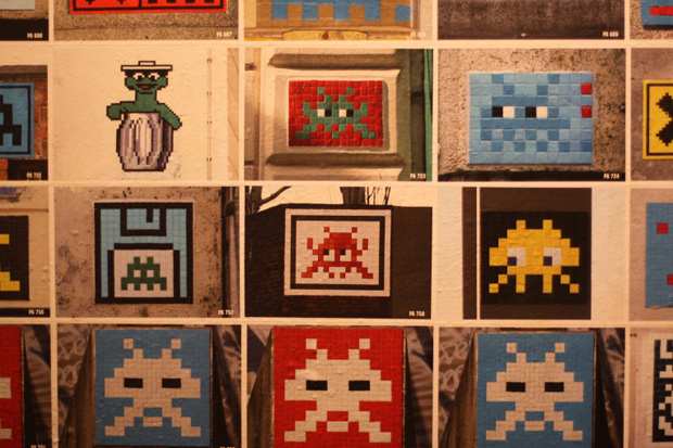 space invader invader 1000 exhibition la generale