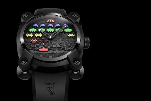 Space Invaders x Romain Jerome Watch