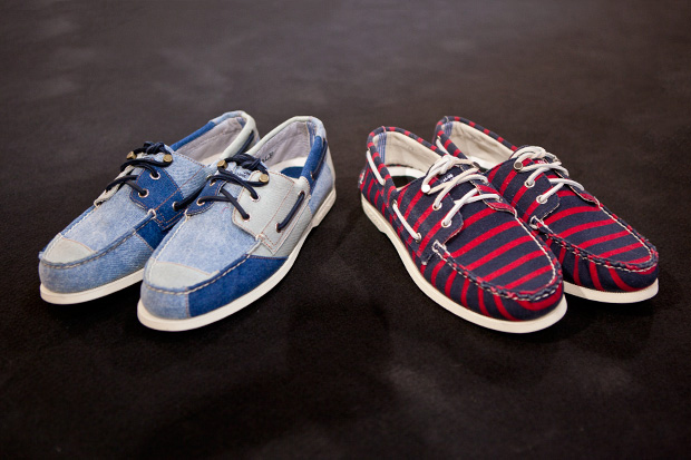 """Sperry Top-Sider x Band of Outsiders 2012 Spring/Summer Authentic Original """"Patterns"""" Preview"""