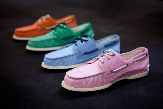 """Sperry Top-Sider x Band of Outsiders 2012 Spring/Summer Authentic Original """"Pastel"""" Preview"""