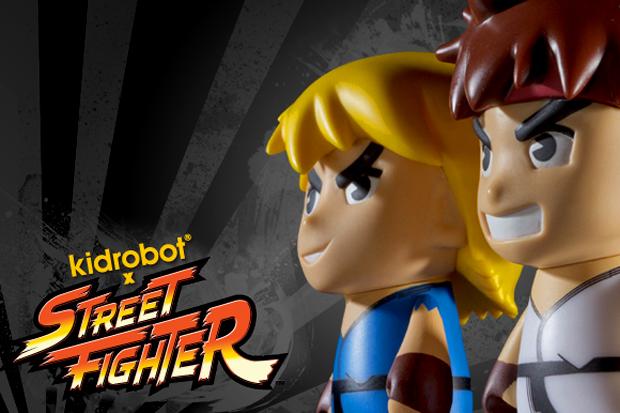 Street Fighter x Kidrobot