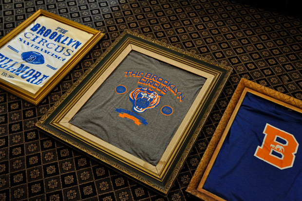 the brooklyn circus 3rd anniversary t shirts