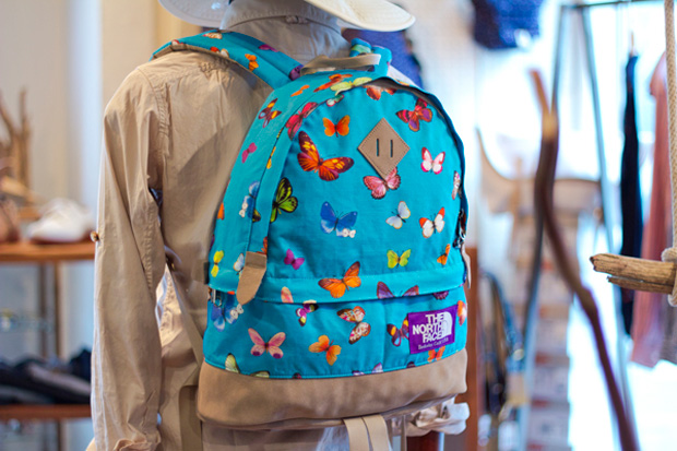 """THE NORTH FACE PURPLE LABEL """"Birds & Butterflies"""" Collection"""