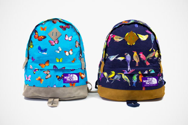 the north face purple label birds butterflies collection