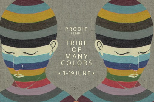 Tribe of Many Colors: Paintings by Prodip