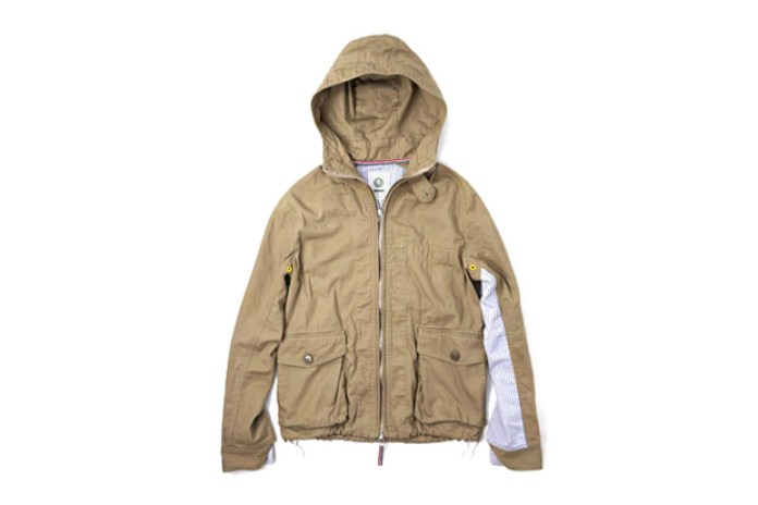 UNTOLD Cotton Ox Marine Parka