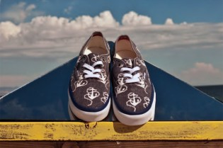 "Vans California 2011 Fall Authentic CA ""Vintage Anchors"""