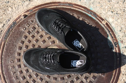Vans Era Wingtip Black/Black