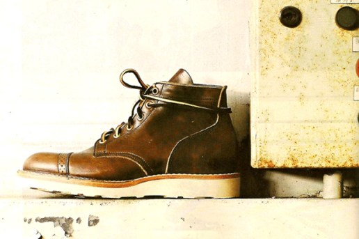 Viberg Brogue Servicemen Boot