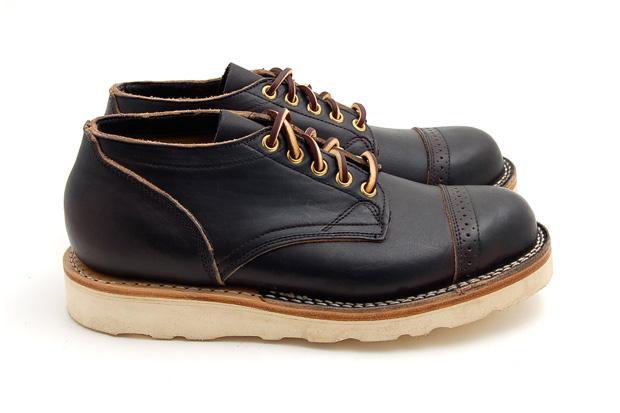 Viberg Brogue Toe Boots Leffot Exclusive