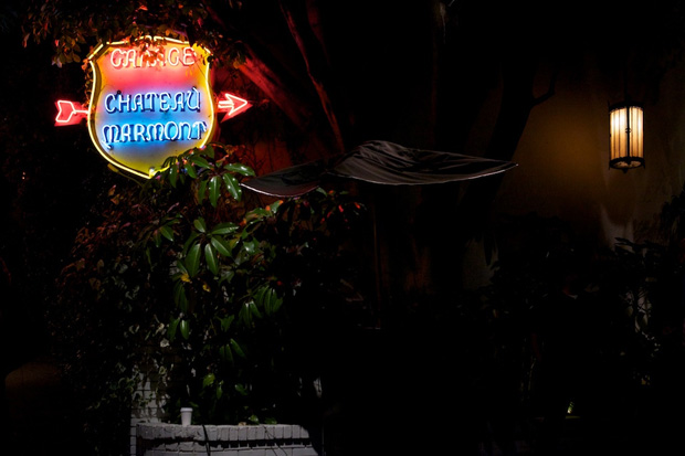 wes lang sittin on a rainbow exhibition chateau marmont recap