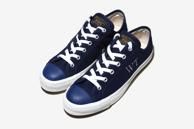 wtaps canvas sneakers