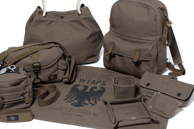 WTAPS Military Canvas Bag Collection