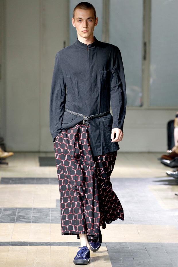 yohji yamamoto 2012 springsummer collection