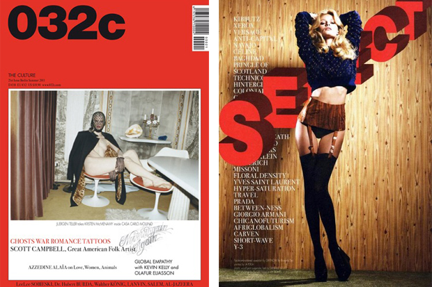 032c Magazine Issue 21 featuring Scott Campbell