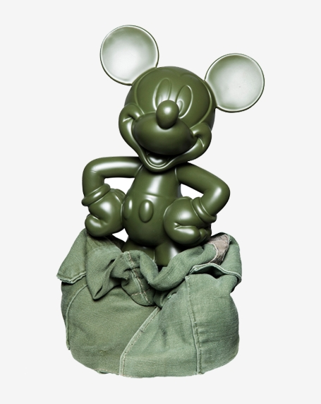 CLOT : Travelling Mickey