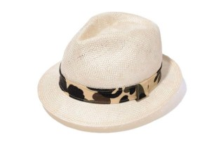 A Bathing Ape 1ST CAMO STRAW HAT