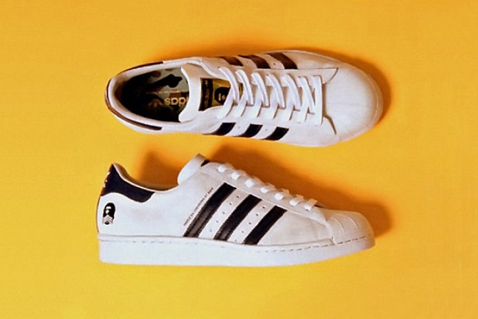 "A Bathing Ape x adidas Originals ""B-Sides"" Super Ape Star Preview"